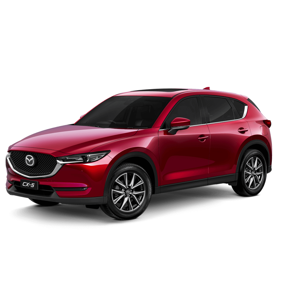 Mazda cx-5 - Akera - Soul Red Crystal Metallic