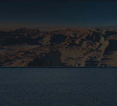 a scenery with a dessert-like hills as a background