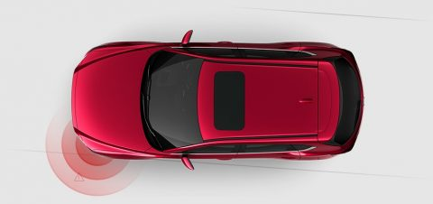 Mazda cx-5 Lane Keep Assist System