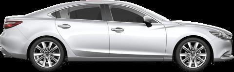 silver Mazda 6