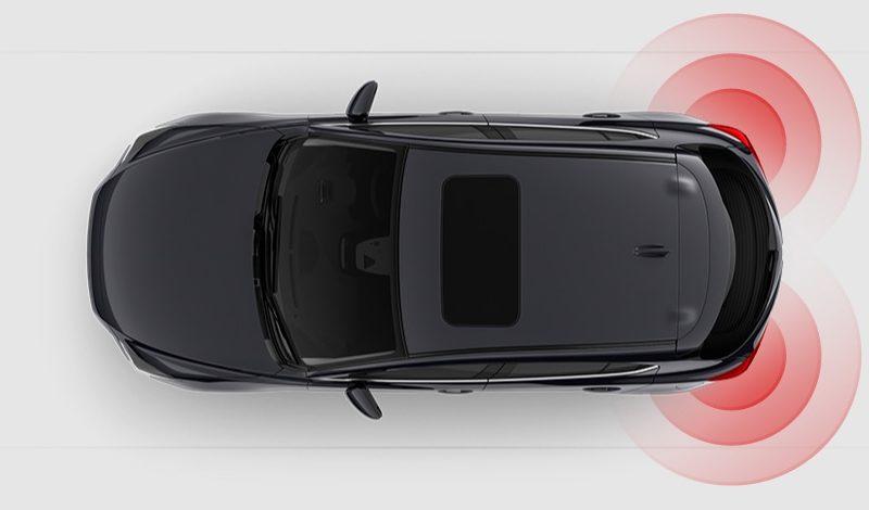 Mazda3 Safety Rear Cross Traffic Alert RCTA