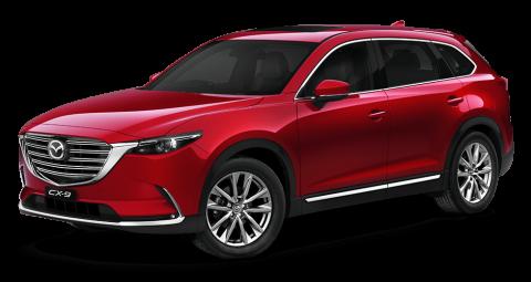 Mazda cx-9 Soul Red Crystal