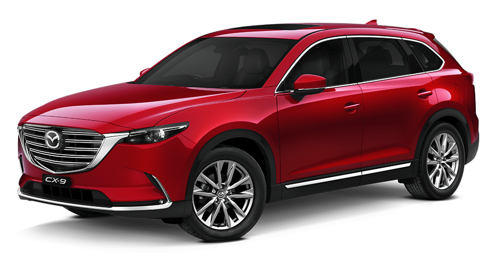 Mazda cx-9 Soul Red Crystal