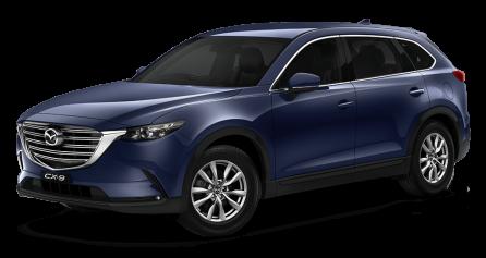 Mazda cx-9 Grade-Touring -Deep Crystal Blue Mica