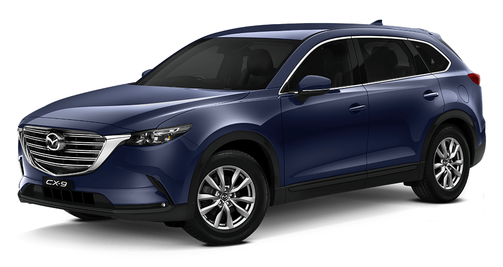 Mazda cx-9 Grade-Touring -Deep Crystal Blue Mica