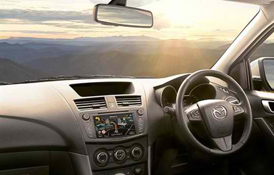 Mazda bt-50 Driving Technology 1
