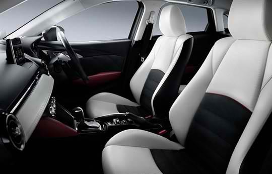 Mazda cx-3 cabin