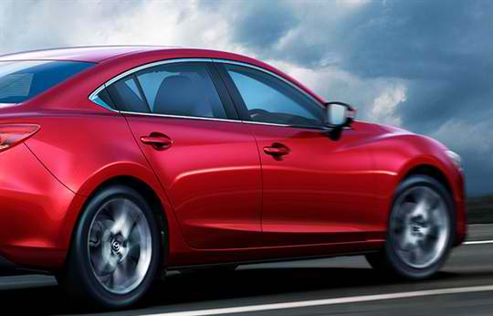 Mazda 6 Driving Technology(1)