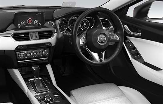 Mazda6 Driving Technology