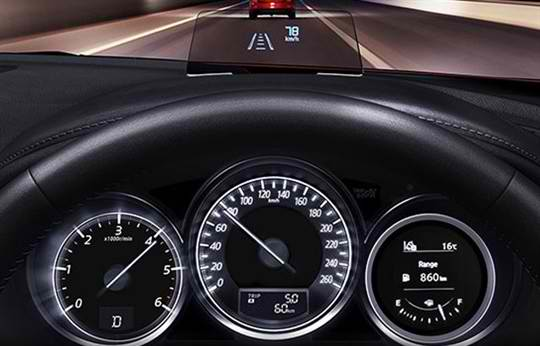 Mazda 6 Driving Technology(4)