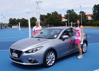 MAZDA JOINS THE ADELAIDE THUNDERBIRDS IN HIGH PROFILE SPONSORSHIP