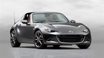 MAZDA MX-5 RF TO FEATURE MACHINE GREY PREMIUM COLOUR DESIGNED TO COMPLEMENT KODO DESIGN
