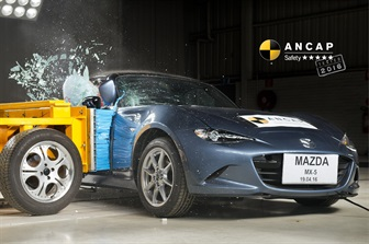 ALL-NEW MAZDA MX-5 AWARDED FIVE STAR ANCAP SAFETY RATING