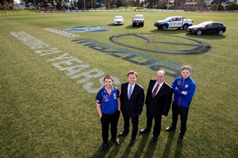 MAZDA AND NORTH MELBOURNE CELEBRATE 21 YEAR PARTNERSHIP