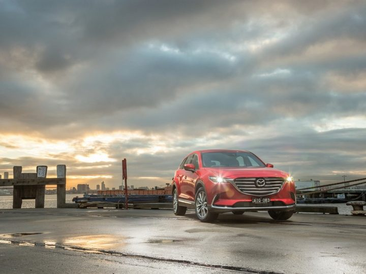 5 STAR ANCAP SAFETY RATING FOR FULL MAZDA RANGE FOLLOWING MAZDA CX-9 TEST SUCCESS