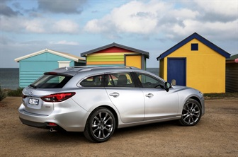 MAZDA6 RECEIVES SAFETY UPGRADE – MORE VALUE AT NO EXTRA COST