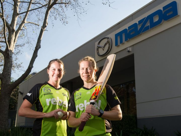 MAZDA COMMITS TO WOMEN'S CRICKET IN SYDNEY THUNDER SPONSORSHIP TAKEOVER