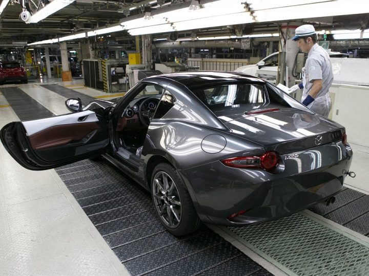 MAZDA STARTS PRODUCTION OF THE MAZDA MX-5 RF