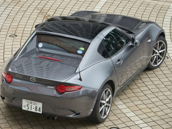 OPEN TOP JOY – ALL-NEW MAZDA MX-5 RF LANDS IN FEBRUARY