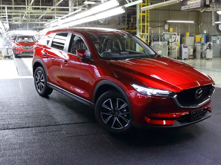 MAZDA STARTS PRODUCTION OF NEXT-GEN MAZDA CX-5