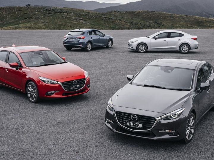 MAZDA SUV & PASSENGER CAR SALES ALMOST AT PARITY