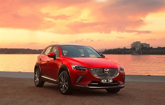 FIRST-EVER MAZDA CX-3 JUDGED AUSTRALIA'S BEST CAR