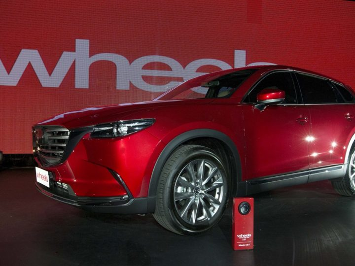 BACK-TO-BACK: BRAND-NEW MAZDA CX-9 FOLLOWS MAZDA MX-5 WINNING WHEELS CAR OF THE YEAR