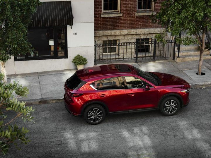 NEXT-GEN MAZDA CX-5 SHOWCASES NEW I-ACTIVSENSE SAFETY TECHNOLOGY