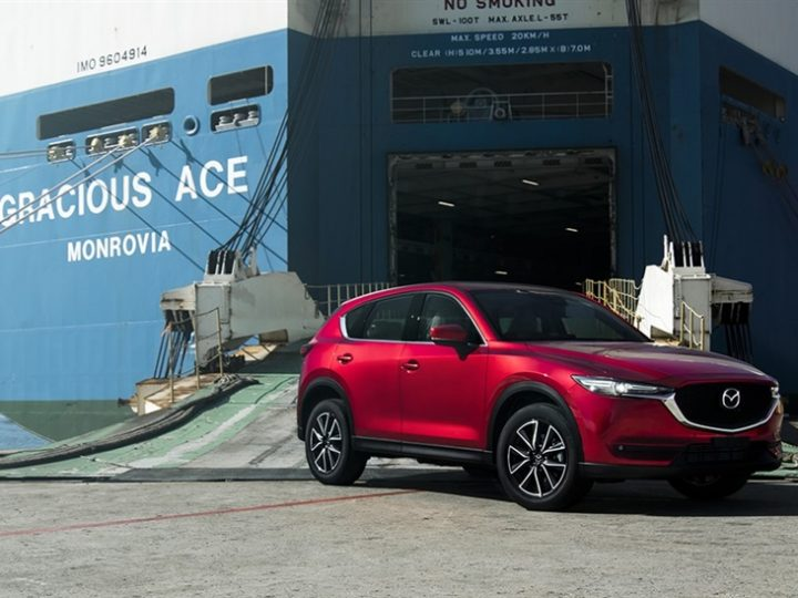 NEXT-GEN MAZDA CX-5 LANDS IN AUSTRALIA