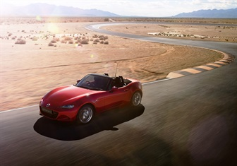 ALL-NEW MAZDA MX-5 NAMED A WORLD CAR OF THE YEAR TOP THREE FINALIST