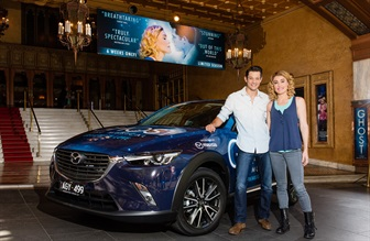 MAZDA JOINS 'GHOST THE MUSICAL' AS OFFICIAL CAR SUPPLIER