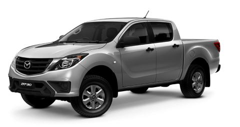 Mazda BT 50 Gray