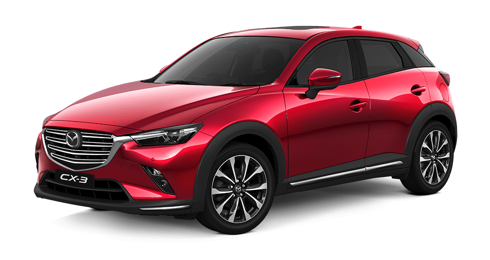 new mazda cx-3 red crystal metallic