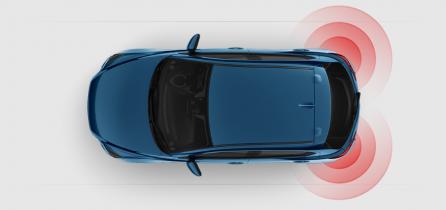 Mazda2 Safety - Rear Cross Traffic Alert