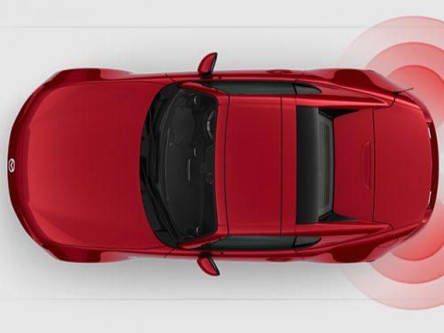 Mazda mx-5 Rear Cross Traffic Alert