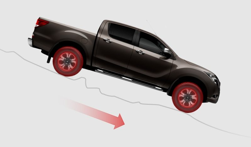 Mazda bt-50 Hill Descent Control Safety