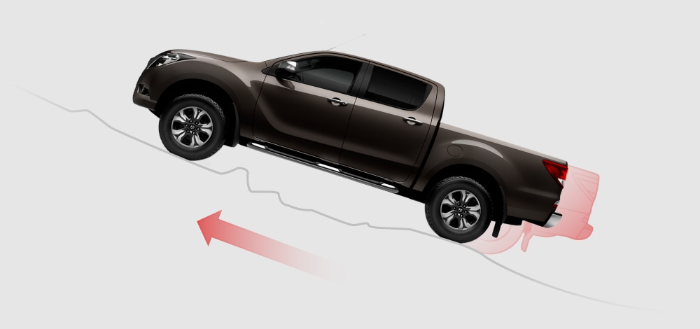 Mazda bt-50 safety -Hill Launch Assist