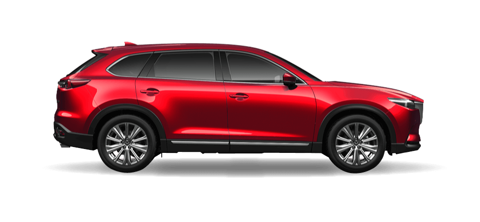 Mazda CX 9 Soul Red