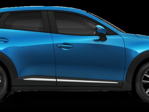 Mazda cx3 Dynamic Blue Mica