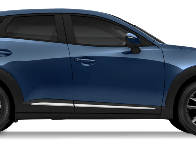 Mazda cx-3 Eternal Blue Mica
