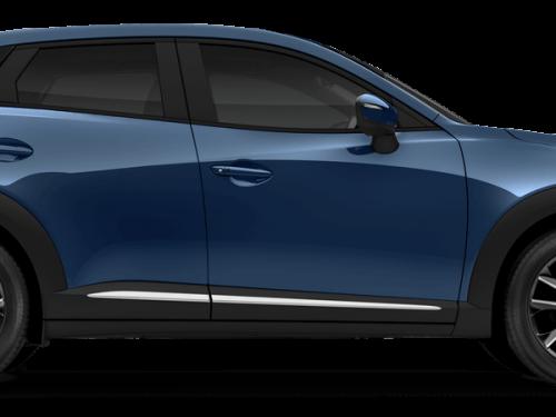 Mazda cx-3 Eternal Blue Mica