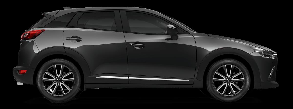 Mazda cx3 Meteor Grey Mica Car