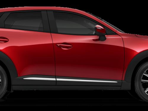 Mazda cx3 Soul Red Metallic Car