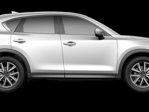 Mazda cx-5 - Sonic Silver Metallic