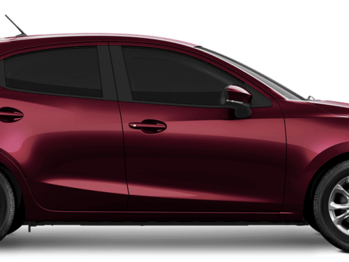 New Mazda2 Deep Crimson Mica