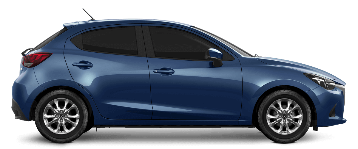 Mazda2 Eternal Blue Metallic Car
