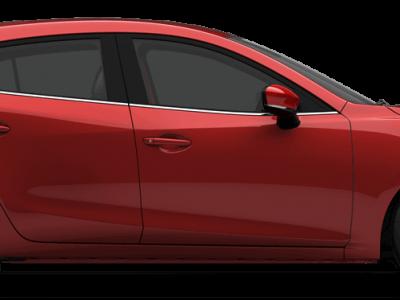 Mazda 3 -Soul Red Metallic