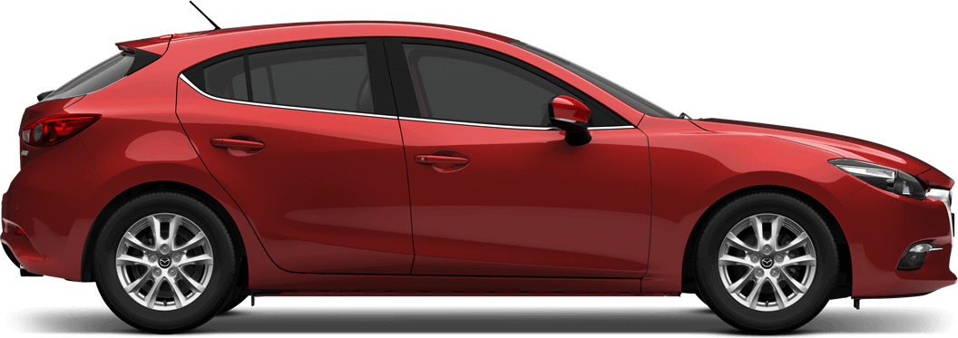 Mazda 3 -Soul Red Metallic