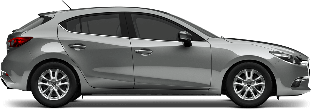Mazda 3 Sonic Silver Metallic