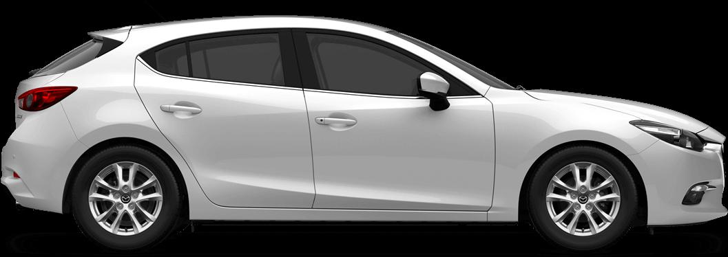 Mazda 3 - Snowflake White Pearl Mica